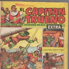 Tebeos: LOTE DE 24 REVISTAS EXTRA EL CAPITAN TRUENO. EDITORIAL BRUGUERA. AÑO 1960. Lote 70467785