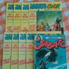 Tebeos: JABATO COLOR Nº 100,105,109,111,114,115,116,117 + ALBUM COLOR Nº 3 (BRUGUERA 1971/72/80). 9 TEBEOS.. Lote 54719120