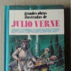 Tebeos: GRANDES OBRAS ILUSTRADAS DE JULIO VERNE, 2ª EDICIÓN DE EDITORIAL BRUGUERA (1979).. Lote 70572769