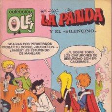 Tebeos: LA PANDA -- Nº 40 EL SILENCINO -- 1ª EDICIÓN--NÚMERO EN EL LOMO. Lote 70789161