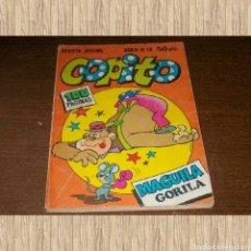 Tebeos: COPITO Nº 18 2-FEBRERO-1981, AÑO II, 2ª ÉPOCA. MAGUILA GORILA. LEÓN MELQUIADES. PICAPIEDRA. ESCUBIDU. Lote 71062485