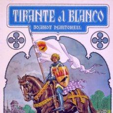 Tebeos: TIRANTE EL BLANCO Nº1. JOANOT MARTORELL. DIBUJOS DE MARZAL. BRUGUERA, 1982. Lote 168010990