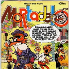 Tebeos: REVISTA MORTADELO Y FILEMON Nº 200 1984 REVISTAS USADAS. Lote 71200649