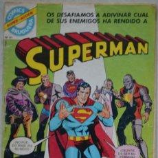 Tebeos: COMICS BRUGUERA Nº 61. 1979. SUPERMAN, Nº 17. INCLUYE UNA HISTORA DE REX EL PERRO PRODIGIOSO. Lote 71458199