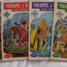 Tebeos: TIRANTE EL BLANCO COLECCION COMPLETA PRIMERA EDICION BRUGUERA AÑO 1982. Lote 71520479