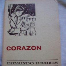Tebeos: CORAZON EDMUNDO DAMICIS COLECCION HISTORIAS SELECCION SERIE CLASICOS JUVENILES Nº 11 BRUGUERA. Lote 71524779