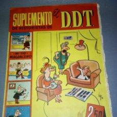 Tebeos: 1018- SUPLEMENTO DE HISTORIETAS ( EL D.D.T) AÑO 1959--- JUGADORES -- 2,50 PESETAS. Lote 71561867