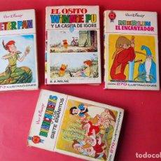 Tebeos: 4 NÚMEROS COLECCIÓN HOGAR FELIZ Nº 1, 4, 7, Y 10 - DISNEY - BRUGUERA 1ª Y 2ª ED. CON SOBRECUBIERTA. Lote 71599663