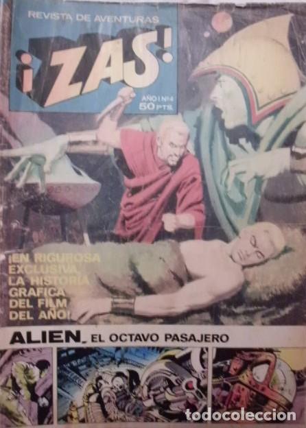 ZAS Nº 4 BRUGUERA AÑO 1979 (Tebeos y Comics - Bruguera - Otros)