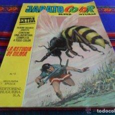 Tebeos: JABATO COLOR EXTRA SEGUNDA 2ª ÉPOCA ALBUM AMARILLO Nº 5. BRUGUERA 1975. REGALO Nº 10.. Lote 42474450