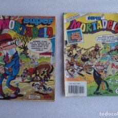 Tebeos: 2 COMICS SUPER MORTADELO, EDITORIAL BRUGUERA 1978. Lote 71928447