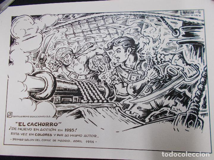 CARTEL PRIMER SALON DEL COMIC DE MADRID 1994 CON ILUSTRACION DE EL CACHORRO - G. IRANZO - (Tebeos y Comics - Bruguera - El Cachorro)