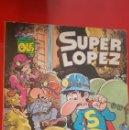 Tebeos: SUPERLOPEZ - AL CENTRO DE LA TIERRA (1°EDICION 1987). Lote 148072245