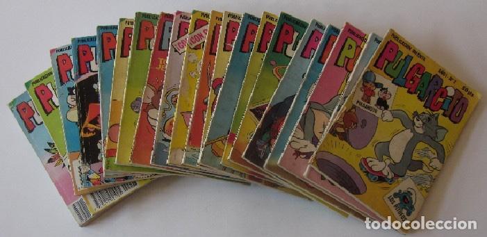 20 COMICS PULGARCITO - EDITORIAL BRUGUERA (Tebeos y Comics - Bruguera - Pulgarcito)