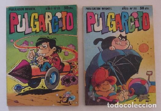 Tebeos: 20 COMICS PULGARCITO - EDITORIAL BRUGUERA - Foto 4 - 72131331