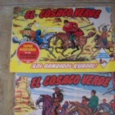 Tebeos: EL COSACO VERDE 144 NUMEROS, COLECCION COMPLETA - REEDICION. Lote 72317719