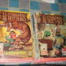 Tebeos: EL CORSARIO DE HIERRO, 1987, COLECCIÓN COMPLETA, 58 NÚMEROS MUY BUEN ESTADO.. Lote 83448547