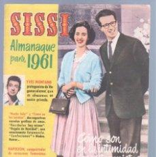 Tebeos: SISSI ALMANAQUE 1961 - IÑIGO, MIGUEL ROA, JUAN SOLÉ,SEGURA, PEÑA ROYA, SANCHIS. Lote 72425043