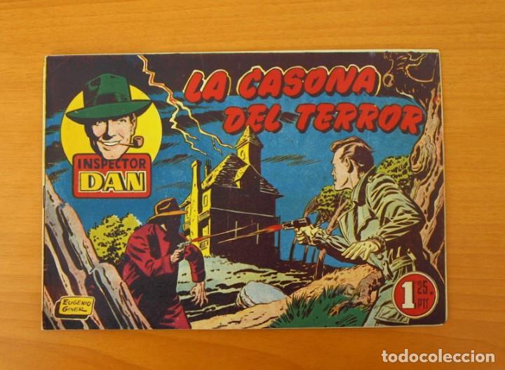 INSPECTOR DAN, Nº 21 LA CASONA DEL TERROR - EDITORIAL BRUGUERA 1951 (Tebeos y Comics - Bruguera - Inspector Dan)