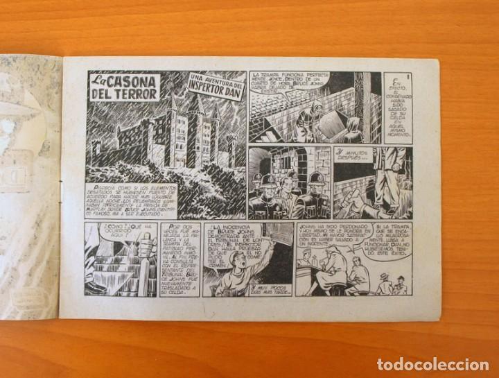 Tebeos: Inspector Dan, nº 21 La casona del terror - Editorial Bruguera 1951 - Foto 2 - 72754403