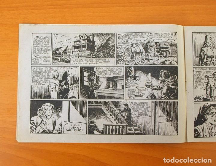 Tebeos: Inspector Dan, nº 21 La casona del terror - Editorial Bruguera 1951 - Foto 3 - 72754403
