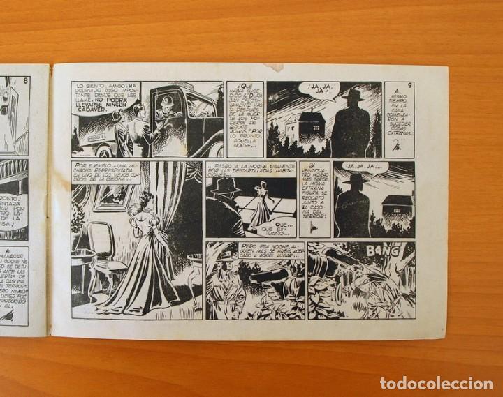 Tebeos: Inspector Dan, nº 21 La casona del terror - Editorial Bruguera 1951 - Foto 4 - 72754403