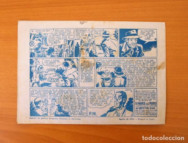 Tebeos: Inspector Dan, nº 21 La casona del terror - Editorial Bruguera 1951 - Foto 5 - 72754403