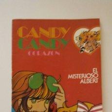 Tebeos: CANDY CANDY CORAZÓN N° 6 EL MISTERIOSO ALBERT. Lote 72760054