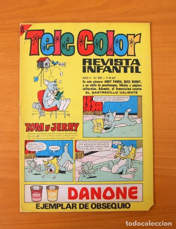 TELE COLOR, Nº 231 TOM Y JERRY - EDITORIAL BRUGUERA 1967 (Tebeos y Comics - Bruguera - Tele Color)