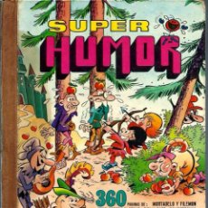 Tebeos: SUPER HUMOR Nº XVI (16) - BRUGUERA 1977 1ª EDICION - MORTADELO, ETC. - 360 PAGINAS - VER DESCRIPCION. Lote 72822791