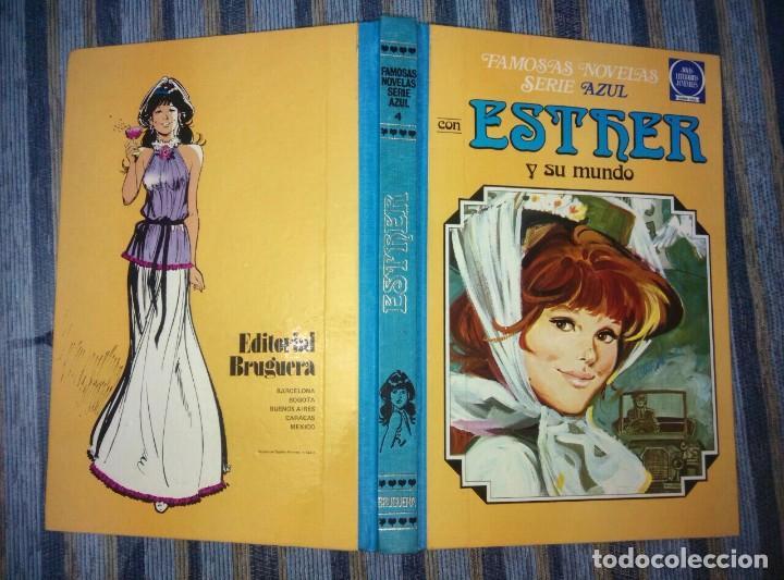 FAMOSAS NOVELAS (SERIE AZUL) ESTHER N° 4 (2A EDICION) (BRUGUERA 1982) (Tebeos y Comics - Bruguera - Esther)