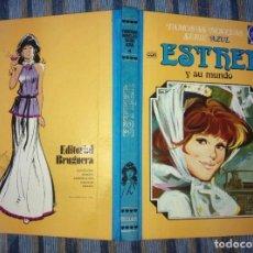 Tebeos: FAMOSAS NOVELAS (SERIE AZUL) ESTHER N° 4 (2A EDICION) (BRUGUERA 1982). Lote 72824451