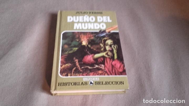 HISTORIA SELECCION SERIE JULIO VERNE Nº 14- DUEÑO DEL MUNDO (Tebeos y Comics - Bruguera - Historias Selección)