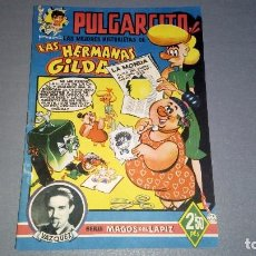 Tebeos: 1018- PULGARCITO MAGOS DEL LAPIZ LAS MEJORES HISTORIETAS DE (LAS HERMANAS GILDA) AÑOS 40. Lote 73298251