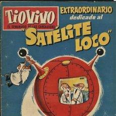 Tebeos: TIO VIVO 86. EXTRAORDINARIO DEDICADO AL SATELITE LOCO (DER, 1959). Lote 73428095