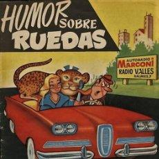 Tebeos: TIO VIVO 133. EXTRAORDINARIO HUMOR SOBRE RUEDAS (DER, 1960). Lote 73428171