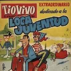 Tebeos: TIO VIVO 112. EXTRAORDINARIO DEDICADO A LA LOCA JUVENTUD (DER, 1959). Lote 73428231
