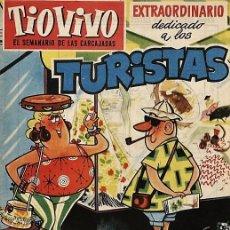 Tebeos: TIO VIVO 103. EXTRAORDINARIO DEDICADO A LOS TURISTAS (DER, 1959). Lote 73428295