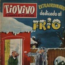 Tebeos: TIO VIVO 129 DEDICADO AL FRIO (DER, 1959). Lote 73428395