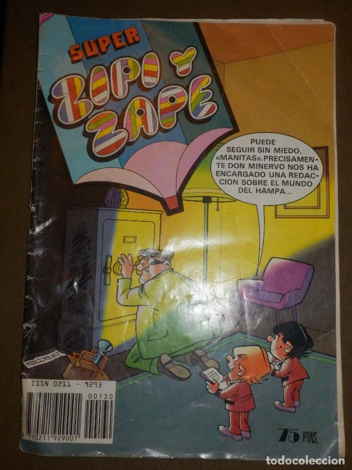 TEBEO - SUPER ZIPI ZAPE - AÑO XII - Nº 130 - 7 DE FEBRERO DE 1983 - BRUGUERA - (Tebeos y Comics - Bruguera - Otros)