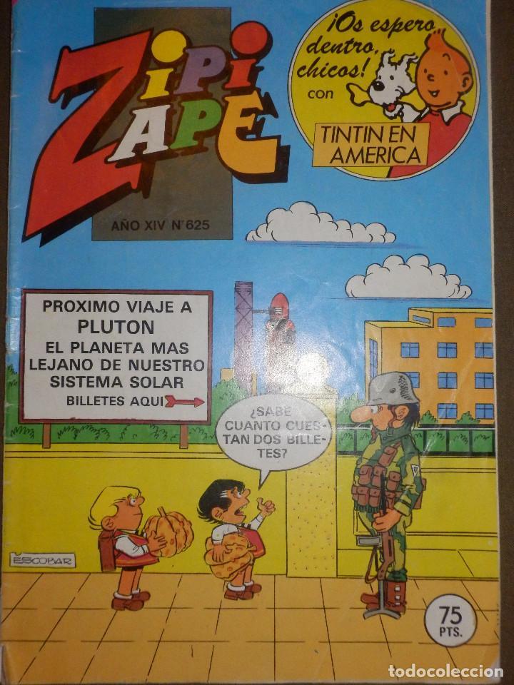 TEBEO - ZIPI ZAPE - AÑO XIV - Nº 625 - 1985 - BRUGUERA - (Tebeos y Comics - Bruguera - Otros)