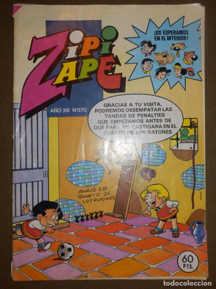 TEBEO - ZIPI ZAPE - AÑO XIII - Nº 570 - 1984 - BRUGUERA - (Tebeos y Comics - Bruguera - Otros)