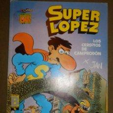 Tebeos: TEBEO - SUPER LÓPEZ - S.L. 8 - LA CAJA DE PANDORA - 1990 - EDICIONES B -. Lote 73512527