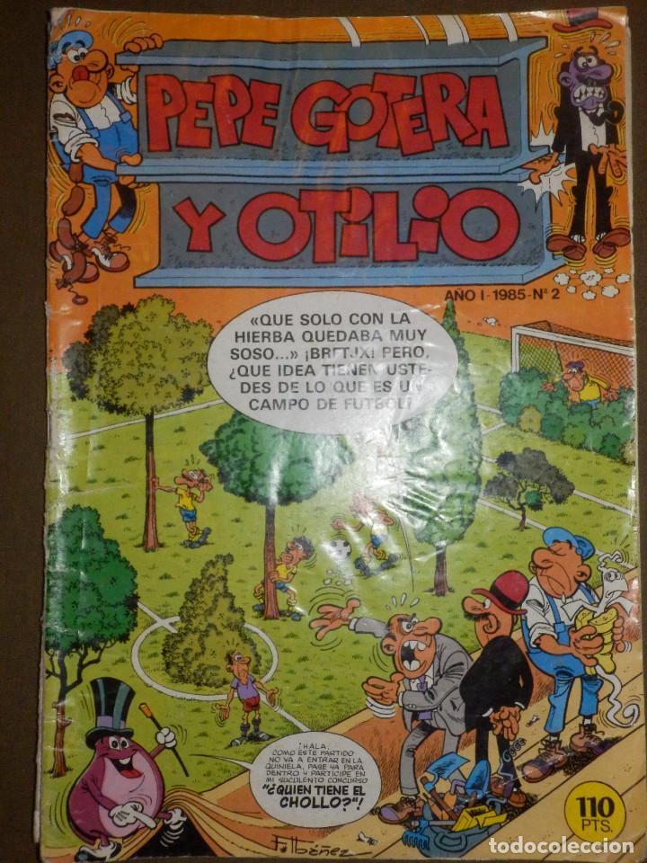 TEBEO - PEPE GOTERA Y OTILIO - AÑO I - Nº 2 -1985 - BRUGUERA - (Tebeos y Comics - Bruguera - Otros)