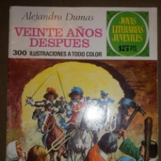 Tebeos: TEBEO - COMIC - JOYAS LITERARIAS - 97 - 20 AÑOS DESPUÉS - BRUGUERA 1974 -. Lote 73514115