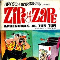 Tebeos: ALEGRES HISTORIETAS Nº 20 - ZIPI Y ZAPE, APRENDICES AL TUN TUN - BRUGUERA 1972 1ª ED. - VER DESCRIP.. Lote 73541527