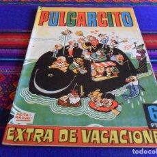 Tebeos: PULGARCITO EXTRA VACACIONES 1963 CON GUILLERMO TELL. BRUGUERA 6 PTS. MUY BUEN ESTADO.. Lote 73649203
