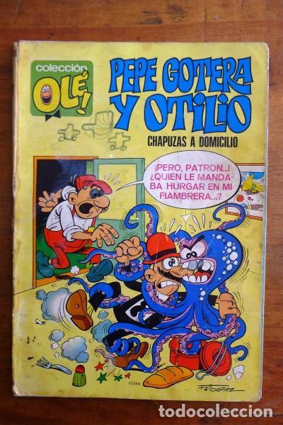 PEPE GOTERA Y OTILIO : CHAPUZAS A DOMICILIO. (COLECCIÓN OLÉ ; 1) (Tebeos y Comics - Bruguera - Ole)