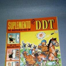 Tebeos: 1018- SUPLEMENTO DE HISTORIETAS DE EL D D T 2,50 PTAS - Nº 25 -AÑO 1959. Lote 73914255