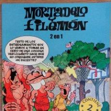 BDs: MORTADELO Y FILEMON - 2 EN 1 EURO BASKET 2007- EL BACILON. EDICIONES B. Lote 73917127